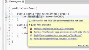 how to create a simple java program using eclipse