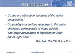 Climate Change Quotes Impressive R Klingbeil H Assaf 48 Water Scarcity And Climate Change S