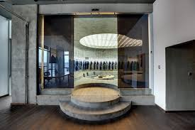 Design Interior Office Cool Zemberek Shapes Istanbul Vigoss RD Studio With Curvilinear Forms