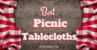 outdoor picnic table covers plastic elastic vinyl waterproof and fitted tablecloths