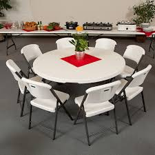 com lifetime 280301 commercial folding round table 5 feet with regard to 60 tables plan