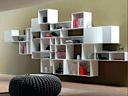 wooden wall bookshelves modern bookcase decorating ideas chrome bookshelf design wood mounted