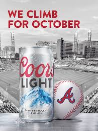 Coors Light Climb On Campaign Coors Light Mlb Baseball Matt Bender