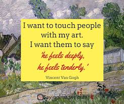 Vincent Van Gogh Quotes Cool 48 Motivating Vincent Van Gogh Quotes SayingImages