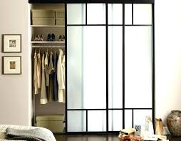 image mirror sliding closet doors inspired. Asian Mirror Style Sliding Doors Door Inspired Black Framed Bedroom Closets With Frosted . Image Closet E