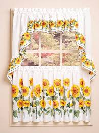 Sunflower Kitchen Kitchen Curtain Ideas For A Better Kitchen Eva Furniture