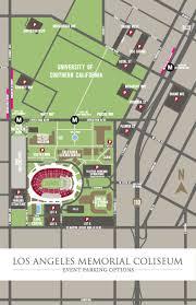 Coliseum Maps Los Angeles Coliseum