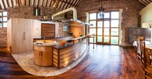 Wood In Kitchen Floors Kitchen Design Laminate Kitchen Floor Design Idea And White