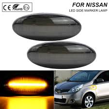 Front Side Marker Light A Pair Smoke Lens Led Front Side Marker Lights Turn Signal