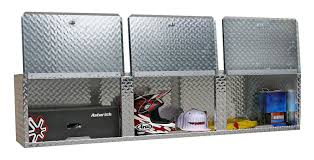 Cabinets For Cargo Trailers Amazoncom Pit Posse 903 Overhead Storage Shop Aluminum Cabinet