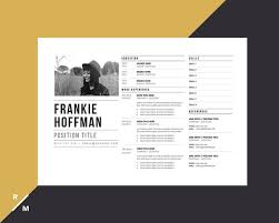 Creative Resume Template | Horizontal Landscape | Modern & Professional  Resume | Simple Resume | Digital Download