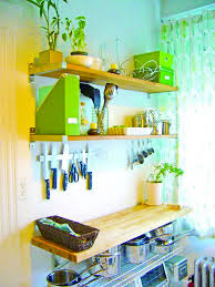 if you have few cookbooks or prefer keeping only the most important books in sight then you can opt for a small and simple cookbook shelf which can be