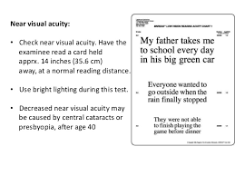 Distance Visual Acuity Chart Visual Acuity Chart For Near Vision Www Bedowntowndaytona Com
