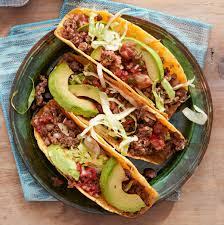 hard s tacos with beef chorizo