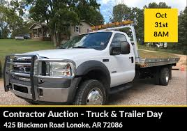 Contractor Auction – Truck & Trailer Day | Blackmon Auctions | Est. 1938