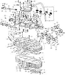 Image of engine head diagram large size