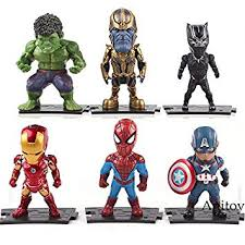 <b>Marvel</b> Action Figure <b>Avengers</b> Captian America Thor Hulk <b>Iron</b> Man ...