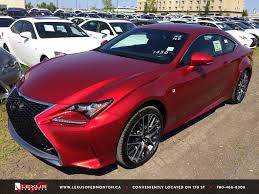 lexus rc f sport red.  Lexus New Red 2015 Lexus RC 350 AWD  F Sport Series 2 Review East Edmonton  YouTube To Rc X