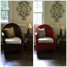 how to paint wicker furniture with a brush chair makeover painting wicker furniture painted wicker and wicker furniture