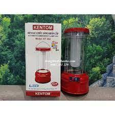 KHUYẾN MÃI - Đèn pin sạc chiếu sáng khẩn cấp xách tay Kentom KT 302 - hình  thật