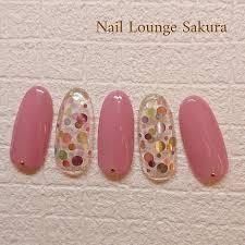 夏デート女子会ハンドシンプル Nailloungesakuraのネイル