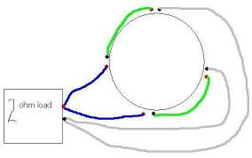 how to wire a quad 2 ohm voice coil sub ecoustics com inductors in series and parallel pdf at Wiring Two Coils