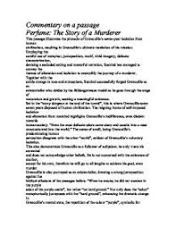 medea key passage international baccalaureate world literature commentary on a passage perfume the story of a murderer this passage