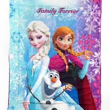 disney frozen family forever olaf anna elsa baby blanket