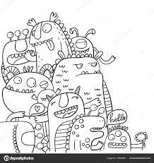 25 Printen Kleurplaat Monster Mandala Kleurplaat Voor Kinderen