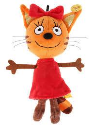 <b>Мягкая игрушка Мульти Пульти</b> 3 кота КАРАМЕЛЬКА V92307/13 ...