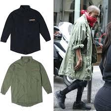 black military trench coat men fashion hip hop hot jacket overcoat black green long military