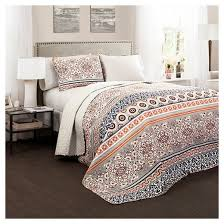 Nesco Quilt Navy/ Coral 3 Piece Set - Lush Decor : Target & Nesco Quilt Navy/ Coral ... Adamdwight.com