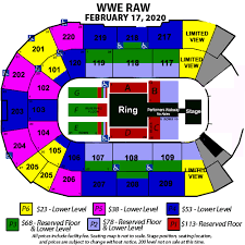 Wwe Monday Night Raw Angel Of The Winds Arena