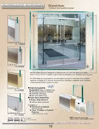 the dry set door rails allow for fast door assembly and easy adjustment without door