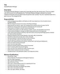Top Rated Sample Resume For Restaurant Sample Resume For Restaurant ...