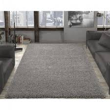 ottomanson contemporary solid grey 8 ft x 10 ft area rug in outdoor rug 8x10