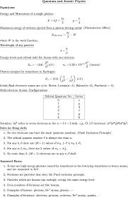 list of physics 232 handouts