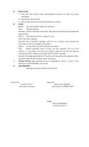 Writing Meeting Notes Sample Minutes For A Template Tailoredswift Co