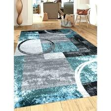 blue 8x10 area rugs the most stylish blue area rugs contemporary abstract circle grey blue area