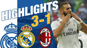 <b>Real Madrid</b> vs AC Milan 3-1 HIGHLIGHTS RESUMEN <b>2018</b> ...