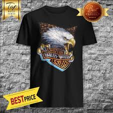 Harley Motor Size Chart Motor Harley Davidson Cycles Thermal 3d Emblem Eagle Vintage Shirt
