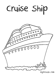 Disney Cruise Ship Drawing At Getdrawingscom Free For Personal