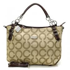 coach press lock signature small white multi crossbody bags fea sale  clearance outlet  coach chain logo in monogram small khaki totes f999