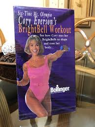 cory everson s brightbell workout exercise vhs 1999 body toning new sealed ebay
