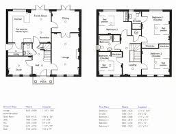 High Quality 4 Bedroom House Plans 3 Plan 2 Story Beautiful Floor Bath Plush Home Of  Futuristic