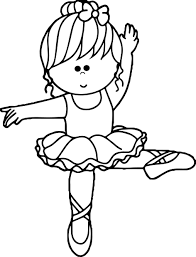 Cartoon Ballerina Coloring Page Ballerina Coloring Pages