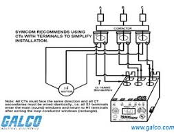 mv symcom protection relays industrial electronics wiring diagrams