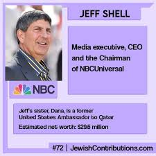 72 - Jeff Shell, CEO and the... - JewishContributions.com | Facebook