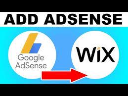 how to add google adsense to wix