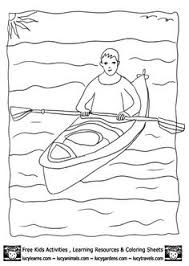 Small Picture Ice Fishing coloring page Kids Nature Activities Quebec